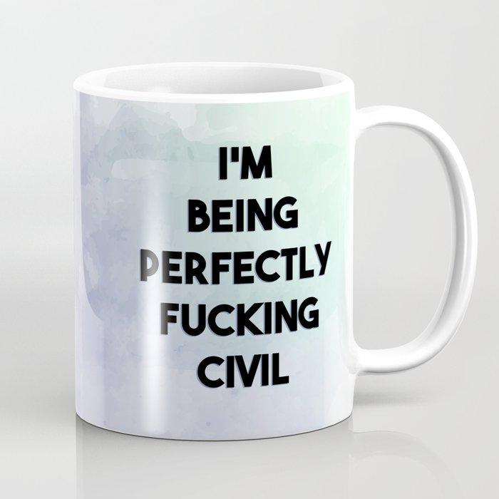 The Raven Cycle - Perfectly Civil Coffee Mug