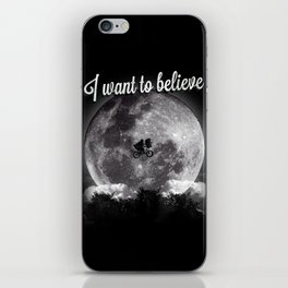 I want to believe iPhone Skin
