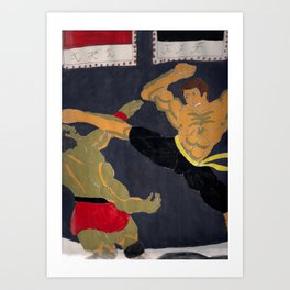 bloodsport Art Print
