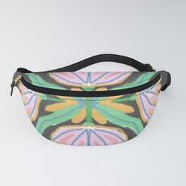 Geometric Delicious Floral Garden 5 Fanny Pack