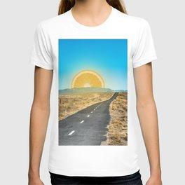 Orange Sunrise T-shirt