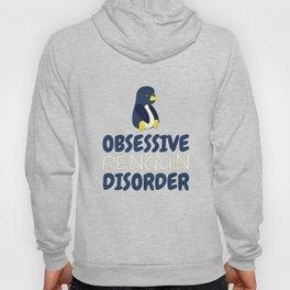Obsessive Penguin Disorder Hoody