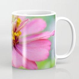 Bright Multi-color Zinnia Coffee Mug