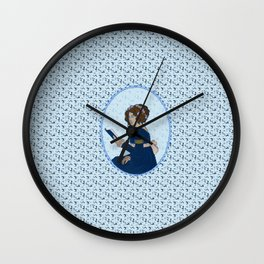 Elizabeth Bennet - Pride and Prejudice Wall Clock