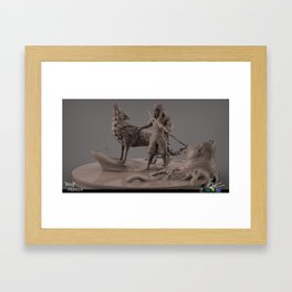 Wolf Hanzo Framed Art Print
