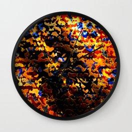 Gilded Shroud Wall Clock