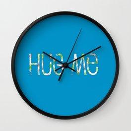 Hug Me Wall Clock