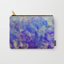 Lilac Sunset - Original Abstract Art by Vinn Wong Carry-All Pouch