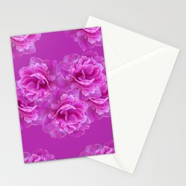 Purple Peony Flower Bouquet #1 #floral #decor #art #society6 Stationery Cards