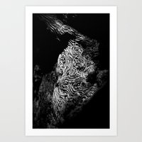 Tree Swirls Art Print
