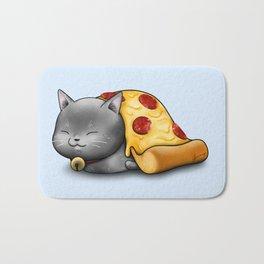 Purrpurroni Pizza Bath Mat