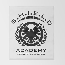 S.H.I.E.L.D Academy > Operations Division Throw Blanket