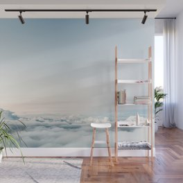 Into the Clouds Wall Mural