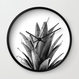 Pineapple Head Wall Clock