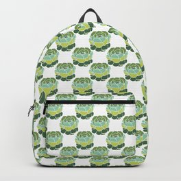Succulent Wallpaper Backpack