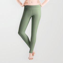 Laurel Green - solid color Leggings