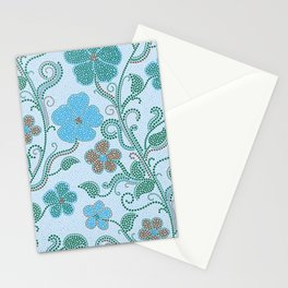 Dotty mosaic pattern Stationery Cards