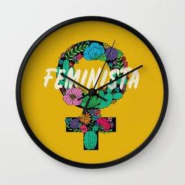 Feminista Wall Clock