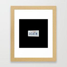 Death Grips Framed Art Print