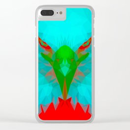 Eagle reimagined Clear iPhone Case