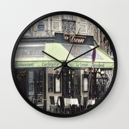 Paris - Restaurant Wall Clock
