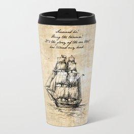 Treasure Island - Robert Louis Stevenson Travel Mug