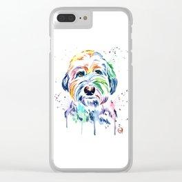 Sheepdog - Gus the Sheepdog Clear iPhone Case