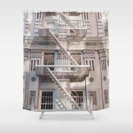 Sunshine in the Upper West Side - NYC Photography Shower Curtain