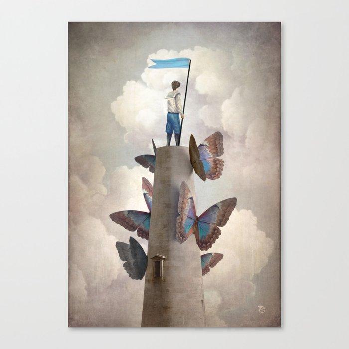 Weltenwanderer Canvas Print