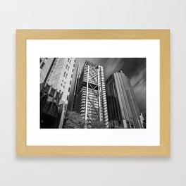 Three Towers / Three Styles Framed Art Print
