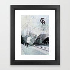 The Caravansary Rail Framed Art Print