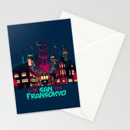 Greetings from San Fransokyo Stationery Cards