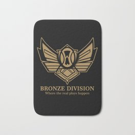 Bronze Division Bath Mat