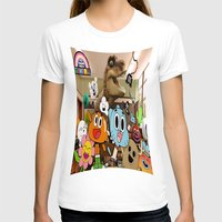 gumball T-shirts featuring GUMBALL by rosita