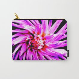 Electro Floral Fun Carry-All Pouch