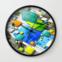 Logya 573 ∞ Wall Clock