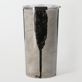 keys/ feathers Travel Mug