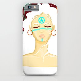 Tribal Girl iPhone Case