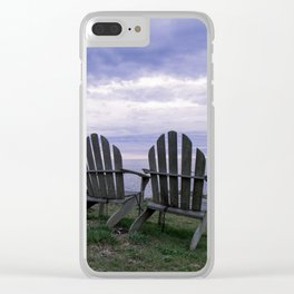 Sunset for Two, Mendocino Clear iPhone Case