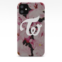 twice floral iPhone Case