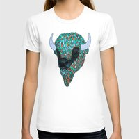 bison T-shirts featuring Bison by ejvozzola