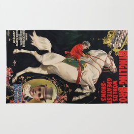 Vintage poster - Circus Rug