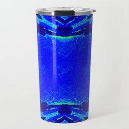 Green & Blue Starburst Series Travel Mug