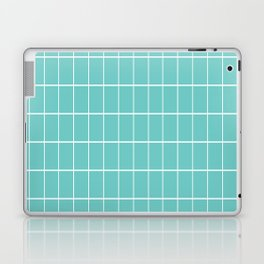 Gorgeous Green Grid Laptop & iPad Skin