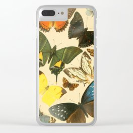 Royal Natural History 1893-1896 - Butterflies Clear iPhone Case