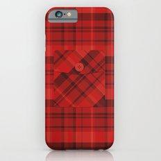 Plaid Pocket - Red Slim Case iPhone 6s
