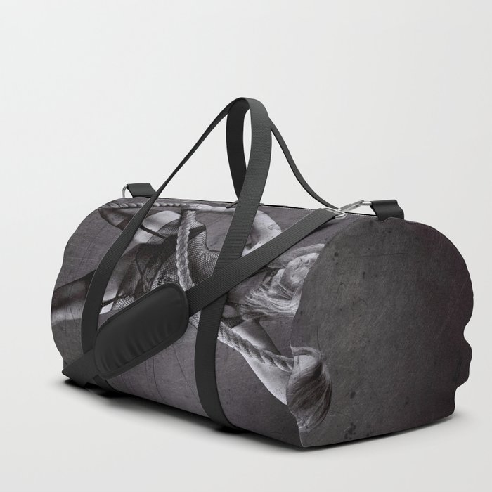 Lingerie and Rope Duffle Bag