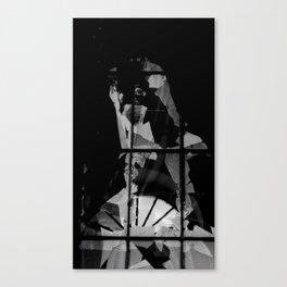 Broken Virgin Canvas Print