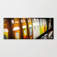 starbucks Canvas Prints featuring Starbucks by Berty Mandagie