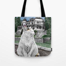 Mackinac Island Cat Tote Bag